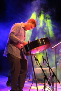 Mike Schwebke Performing in Argentina at the FCP Percussion Festival 2019