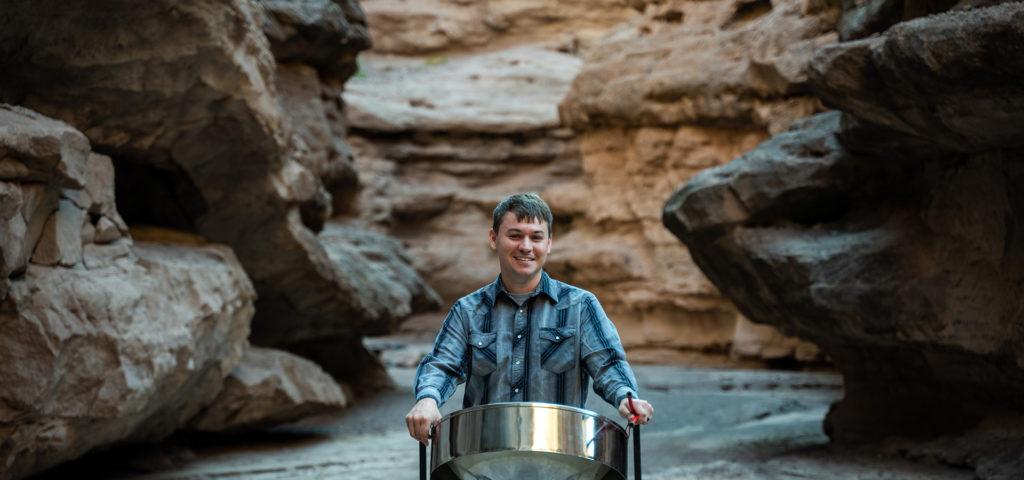 Mike Schwebke, Steelpan in the Canyon